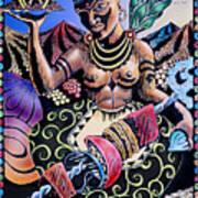 Indian Food Art Print