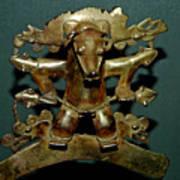 Indian Gold Art Print