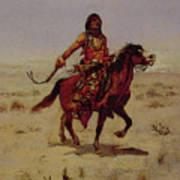 Indian Rider Art Print