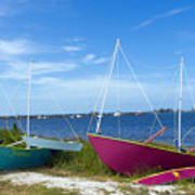 Indian River Lagoon On The Easr Coast Of Florida Art Print