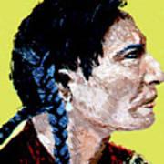 Indian Side Profile Art Print
