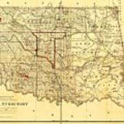 Indian Territory Art Print by Pg Reproductions