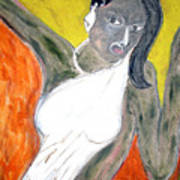 Indian Tribal Woman Art Print