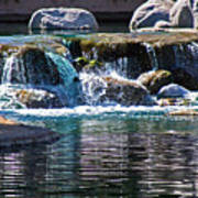 Indian Wells Waterfall Art Print