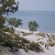 Indiana Dunes State Park Provides Art Print