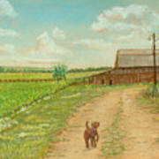 Indiana Farm Art Print