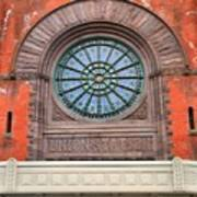 Indianapolis Union Station Building Art Print