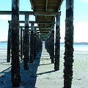 Indianola Washington Dock 2 Art Print