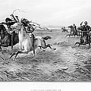 Indians/u.s. Military, 1876 Art Print