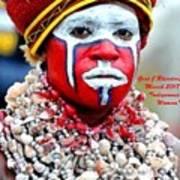 Indigenous Woman L A Art Print