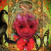 Indigo Child Art Print