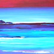 Indigo Island Art Print