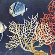 Indigo Ocean - Silence Of The Deep Art Print