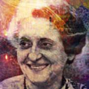 Indira Art Print