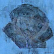 Indistincint Blues Art Print