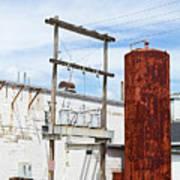 Industrial Building One Art Print