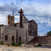 Industrial Cement Factory Art Print