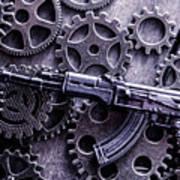 Industrial Firearms  Art Print