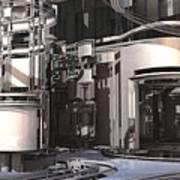 Industrial Manufacturing Art Print