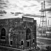 Industrial Wasteland Art Print