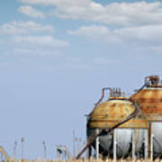 Industry Tank For Gas And Liquid Art Print