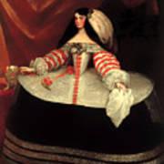 Inez De Zuniga - Countess Of Monterrey Art Print