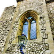 Infamous White Tower Of London Art Print