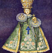 Infant Jesus Of Prague Art Print