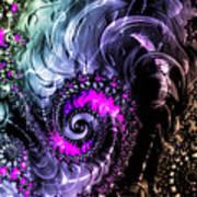Infinite Cosmic Drain  Art Print