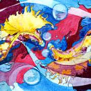 Infinite Fishdance Art Print