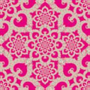 Infinite Lily In Pink Art Print