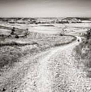 Infinity Road To Santiago Art Print