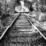 Infinity Train Art Print