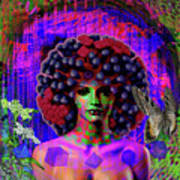 Influenza She Has Gone Viral Art Print