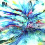 Influx Art Print