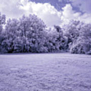 Infrared In Glasgow Ky Art Print
