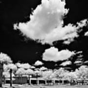 Infrared Indian River State College Hendry Campus #1 Art Print