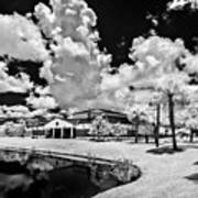 Infrared Indian River State College Hendry Campus #11 Art Print
