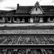 Ingersoll Train Station    Art Print