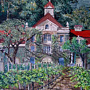 Inglenook Winery Napa Valley  Art Print