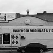 Inglewood Food Mart Art Print