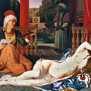 Ingres: Odalisque Art Print