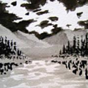 Inky Sky Art Print