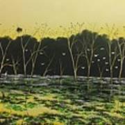 Inland Lakes Art Print