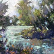 Inlet Haven Art Print