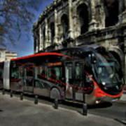 Inner City Tram Art Print