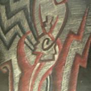 Inner Turmoil  Detail Art Print