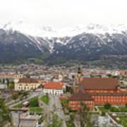 Innsbruck View Art Print