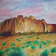 Inscription Rock  Art Print