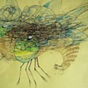 Insect Art Print by Paulo Zerbato
